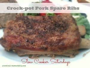 Crock-pot Pork Spare Ribs