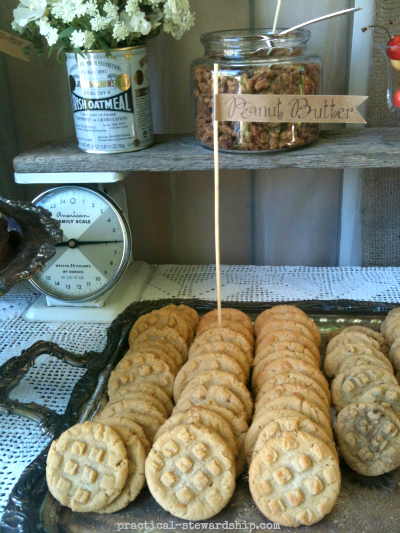 Peanut Butter Cookies @ the Burlap Party