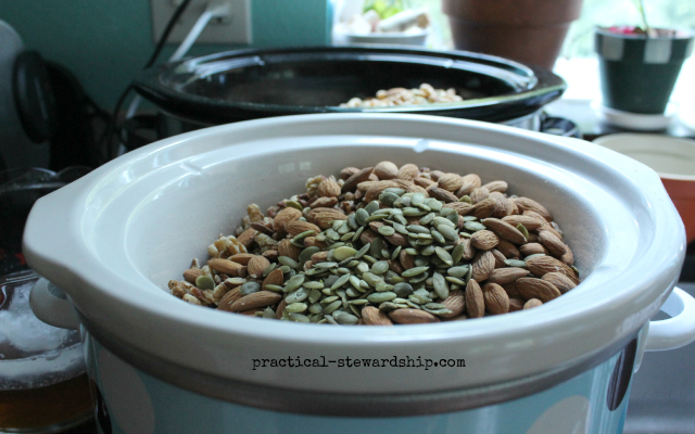 Crock-pot Granola