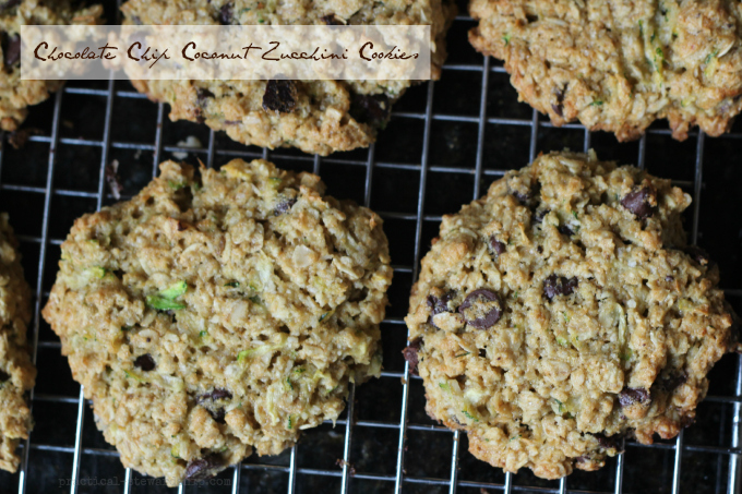 Chocolate Chip Coconut Zucchini Cookies