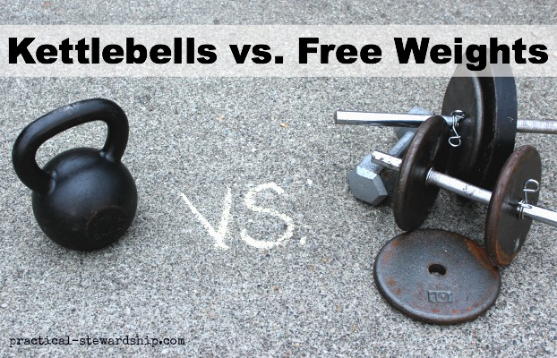 KB's vs. Free Weights