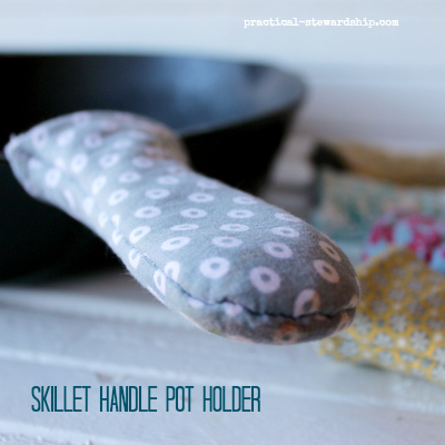 Skillet Handle Pot Holder DIY