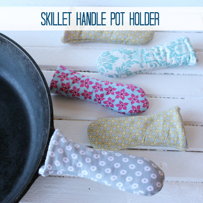 DIY Pot Holder for a Skillet Handle