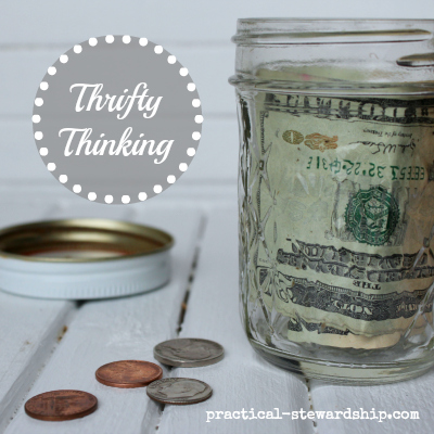 Finance Thrifty Thinking