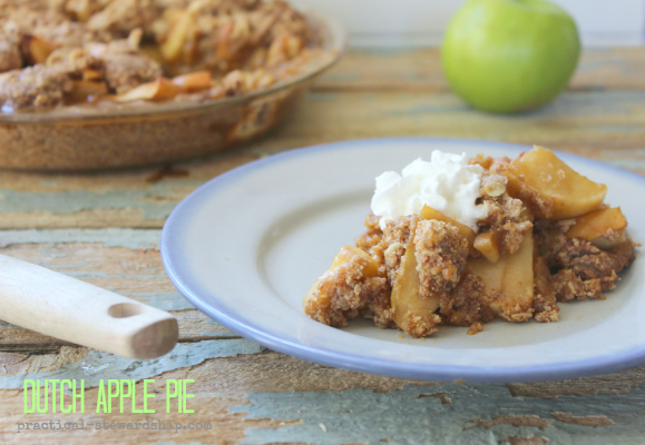 Dutch Apple Pie, D-F, Egg-Fr, V