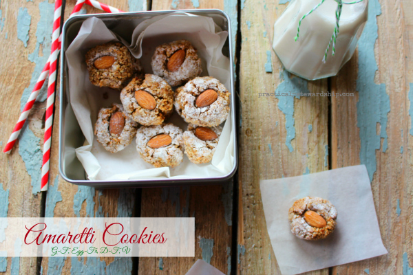 Apricot Amaretti Cookies (naturally Gluten Free) Recipe ...