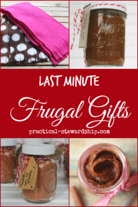 Last Minute Frugal Gift Ideas