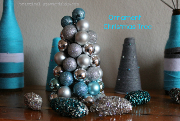 Ornament Christmas Trees Tutorial
