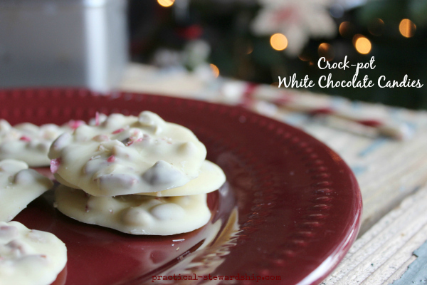 Crock-pot White Chocolate Candies