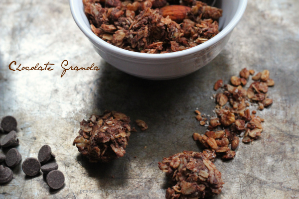 Chocolate Granola Chunks, G-F, D-F, V