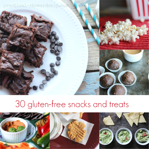 30 gluten-free snacks and treats