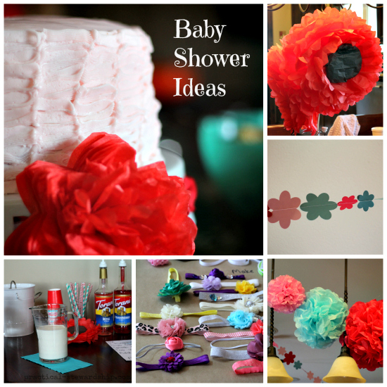 Girl's Baby Shower Ideas