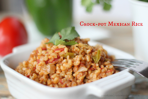 Crock-pot Mexican Rice