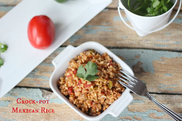 Crock-pot Mexican or Spanish Rice