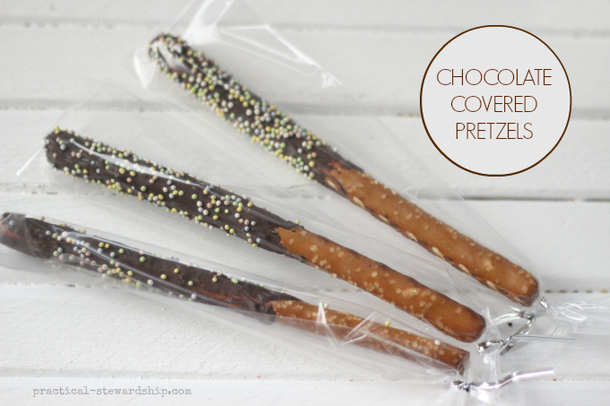 ORGANIC CHOCOLATE COVERED PRETZELS