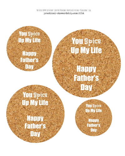 You Spice Up My Life Happy Father's Day Free Printable.jpg