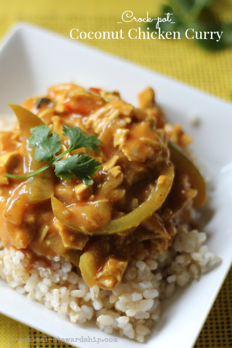 _Crock-pot_ Coconut Chicken Curry