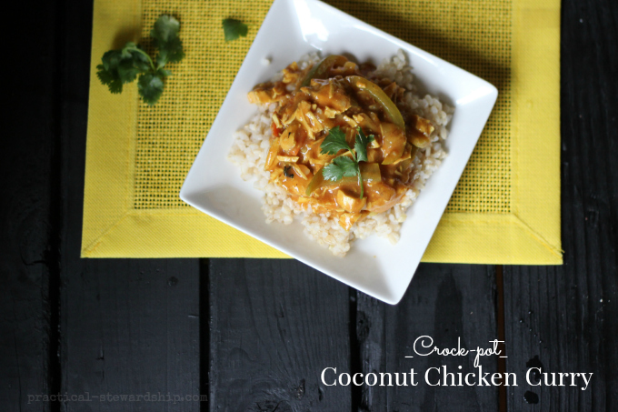 Crock-pot Coconut Chicken Curry Headshot