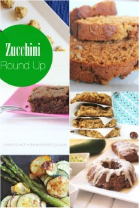 Zucchini Recipe Round Up
