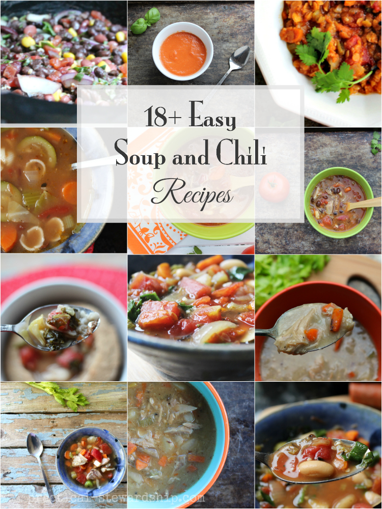 Easy Soup and Chili Recipes