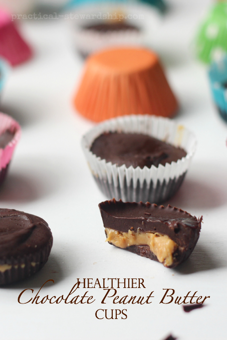 5 Ingredient Chocolate Peanut Butter Cups