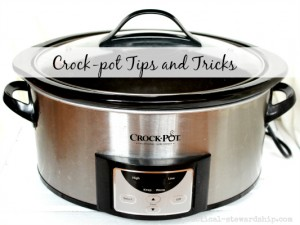 Crock-pot Tips and Tricks