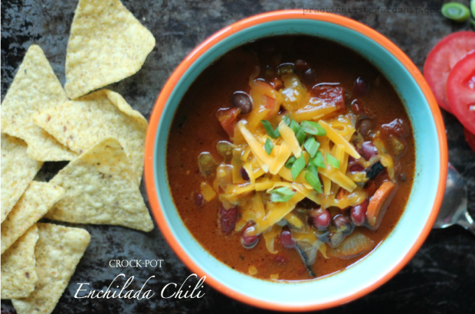 Crock-pot Enchilada Chili with a Stove Top Option