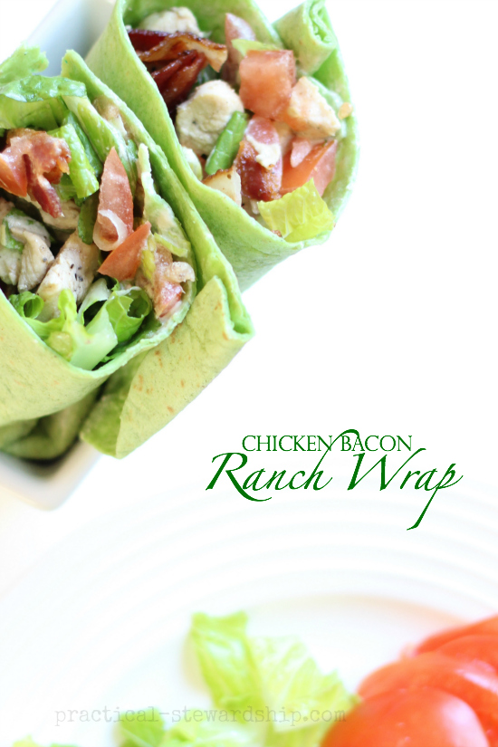 Chicken Bacon Ranch Wrap