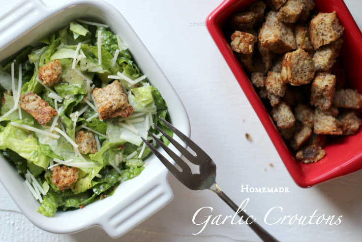 Homemade Garlic Crouton