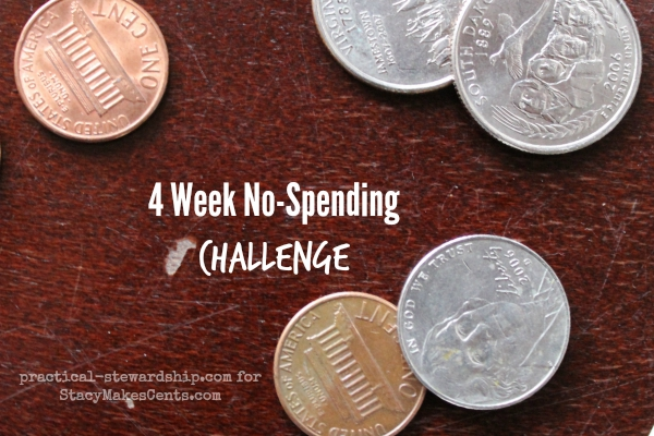 4 Week No-Spending Challenge #3