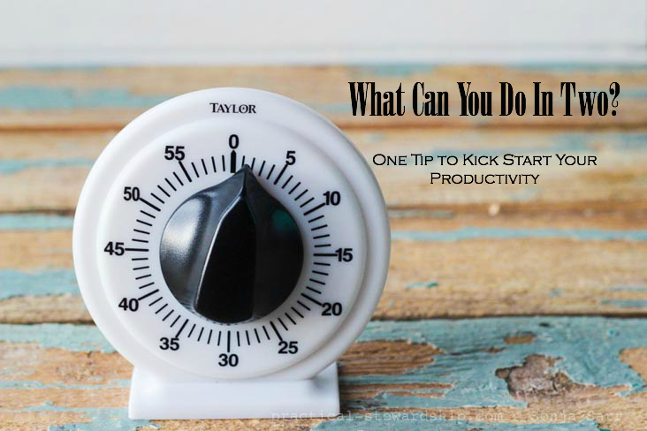 What Can You Do In Two? One Tip to Kick Start Your Productivity