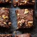 Dairy-free Dark Chocolate Brownies