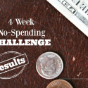 4 Week No Spending Challenge
