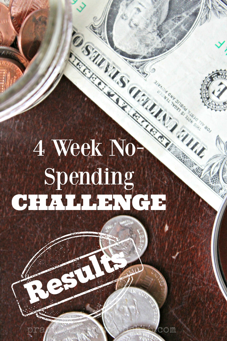 No-Spending Challenge Results