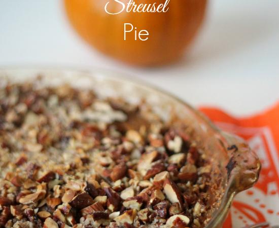 Gluten Free Pumpkin Streusel Pie