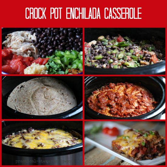 Crock Pot Enchiladas Or Enchilada Casserole Recipe Practical