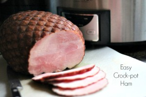 Easy Crock-pot Ham