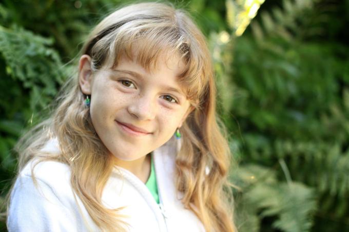 Ellie Age 9