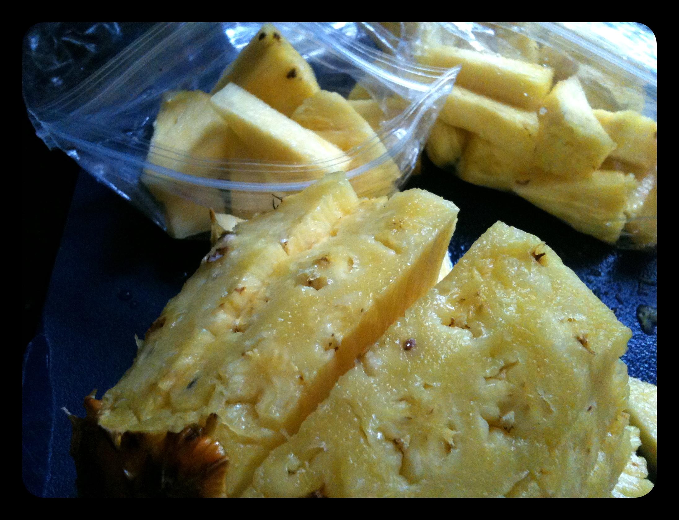 Pineapple: Freeze It!