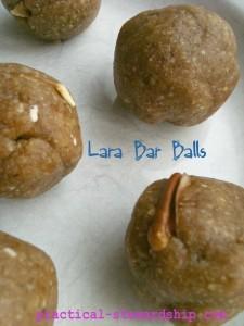 Lara Bar Balls