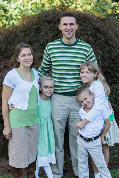 Sarr Family Fall 2014