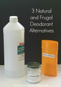 3 Natural Deodorant Alternatives | practical-stewardship.com