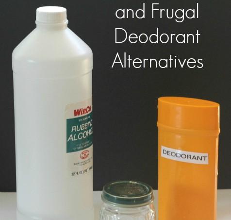 3 Natural Deodorant Alternative Recipes