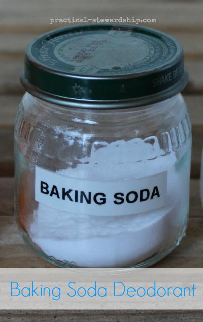 Baking Soda Deodorant