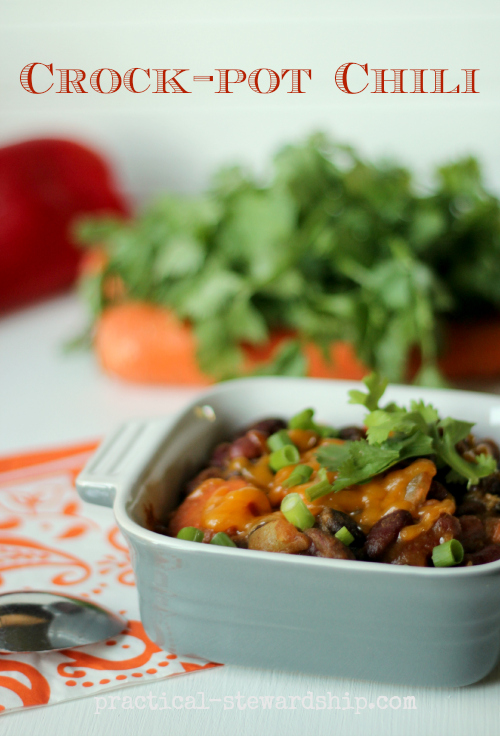 Crock-pot Can Can Chili