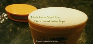 3 Deodorant Alternatives @ practical-stewardship.com