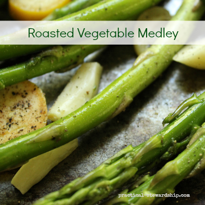 Raw Roasted Vegetable Medley