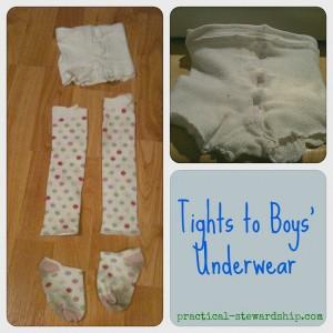 Tights to Boys' Underware Collage