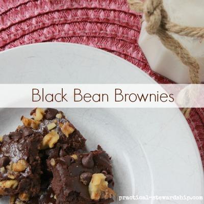 Black Bean Brownies, Gluten-Free