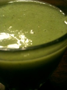 Sonja's Sweet Green Smoothie
